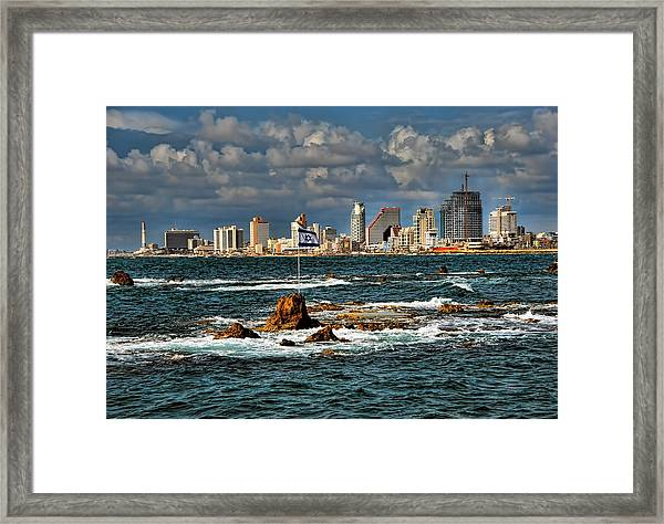 Israel Full Power Framed Print