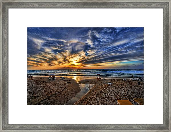 Israel Sweet Child In Time Framed Print