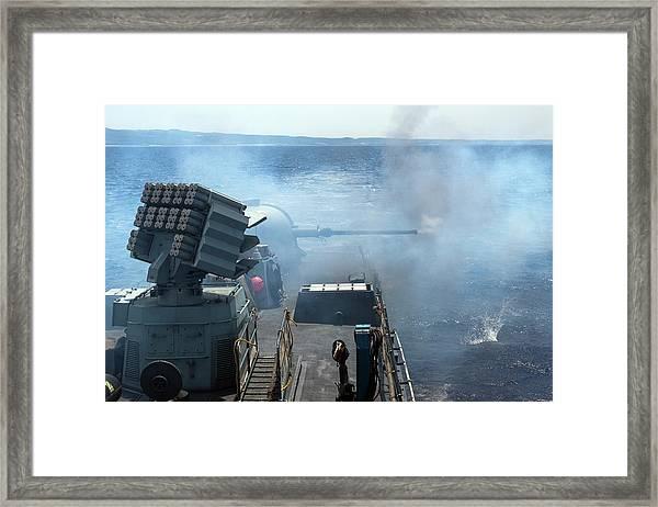 Israeli Navy Missile Boat Framed Print