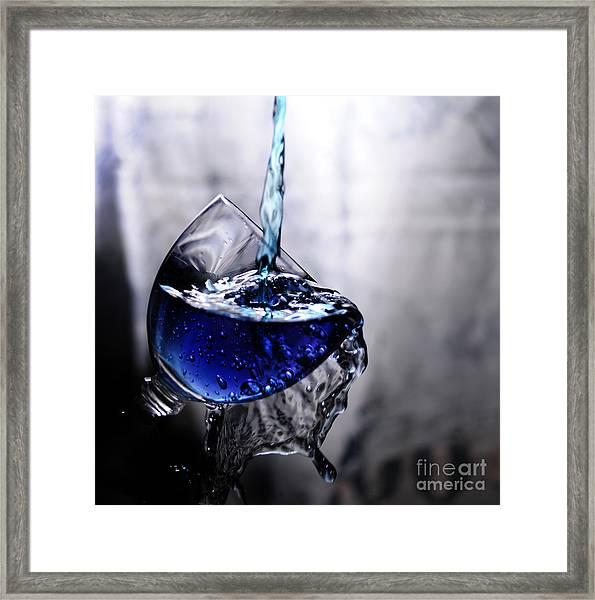 It Is Blue Framed Print