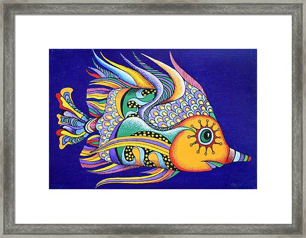 It Is Fun To Be Colorful Framed Print
