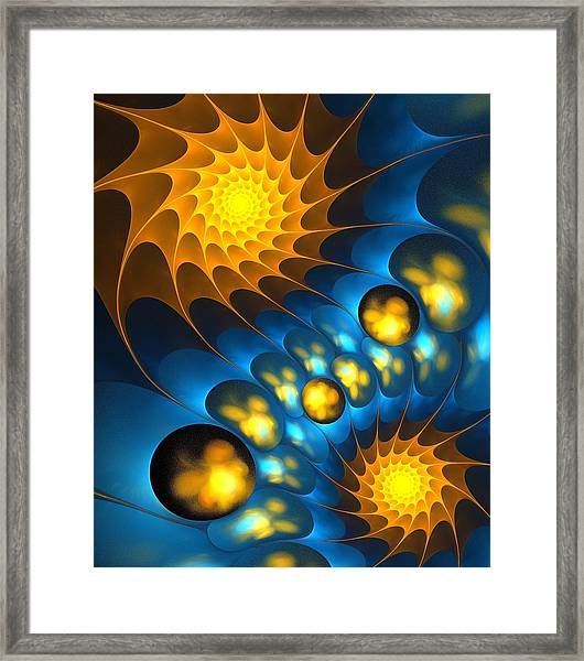It Is Time Framed Print