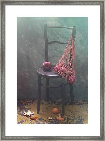 It Was Recently... Framed Print
