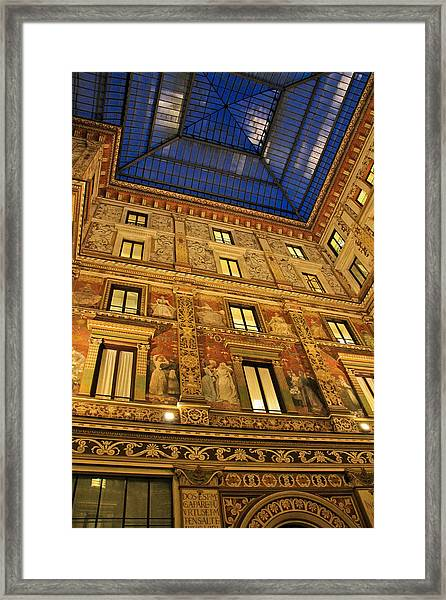 Italian Adornment Framed Print