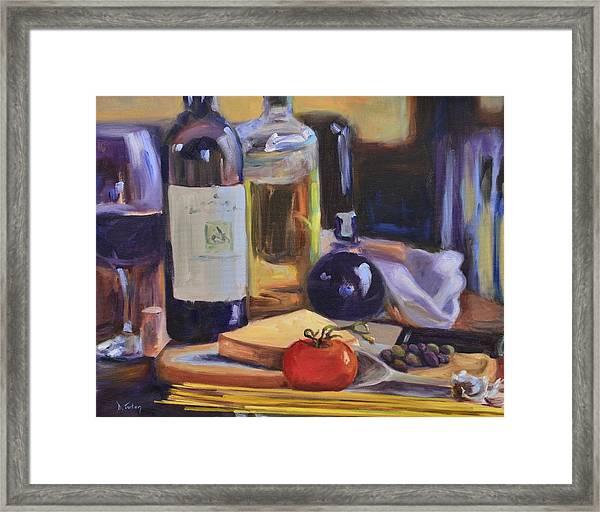 Italian Kitchen Framed Print