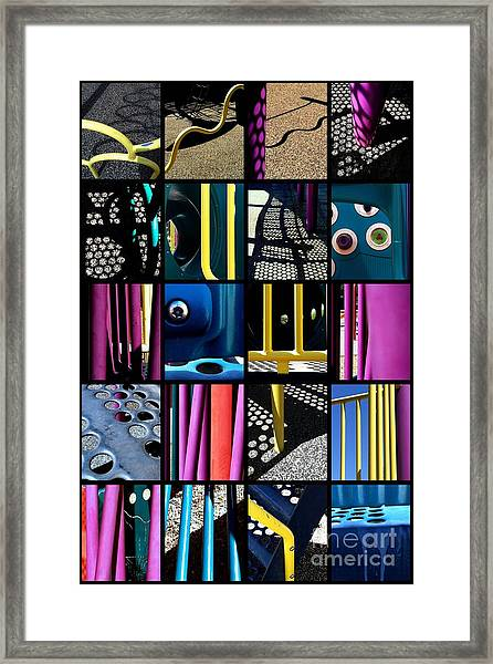 Its A Jungle Gym Out There Framed Print