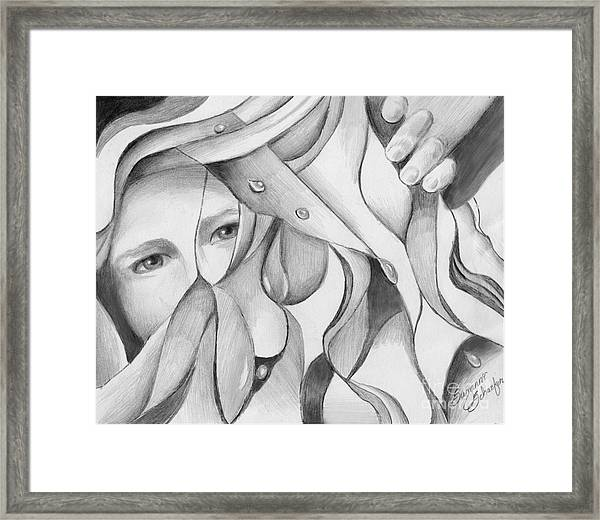 Its A Jungle Out There Framed Print by Suzanne Schaefer
