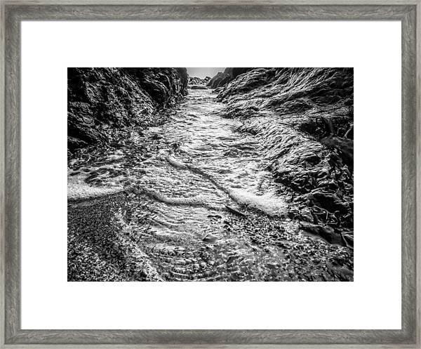 It's A Rush Browns Beach  Framed Print