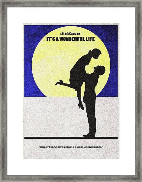 It's A Wonderful Life Framed Print