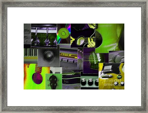 It's All About Music Framed Print