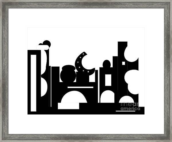 Its Bazaar Framed Print