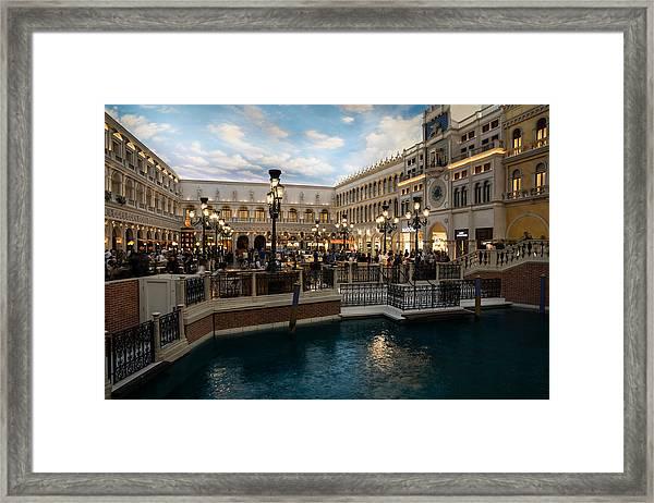 It's Not Venice Framed Print