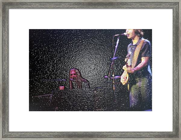 Its So Easy To Slip Framed Print