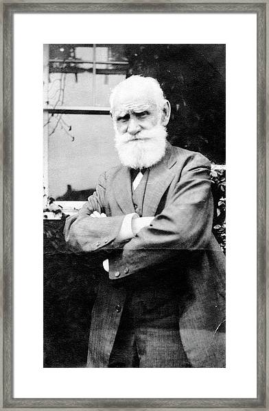 Ivan Pavlov Framed Print by American Philosophical Society
