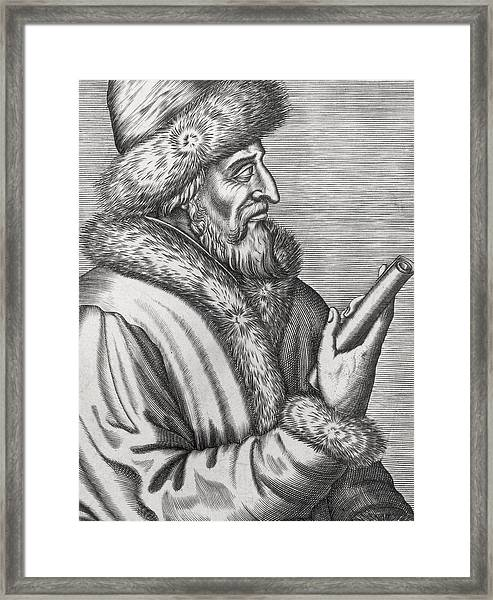 Ivan The Terrible Framed Print