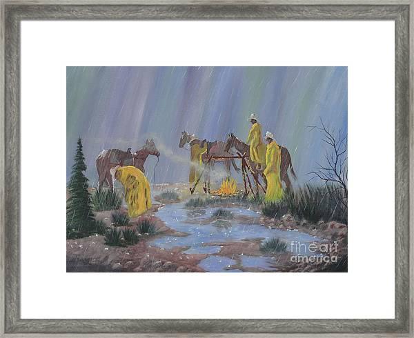 I've Seen Fire-i've Seen Rain Framed Print