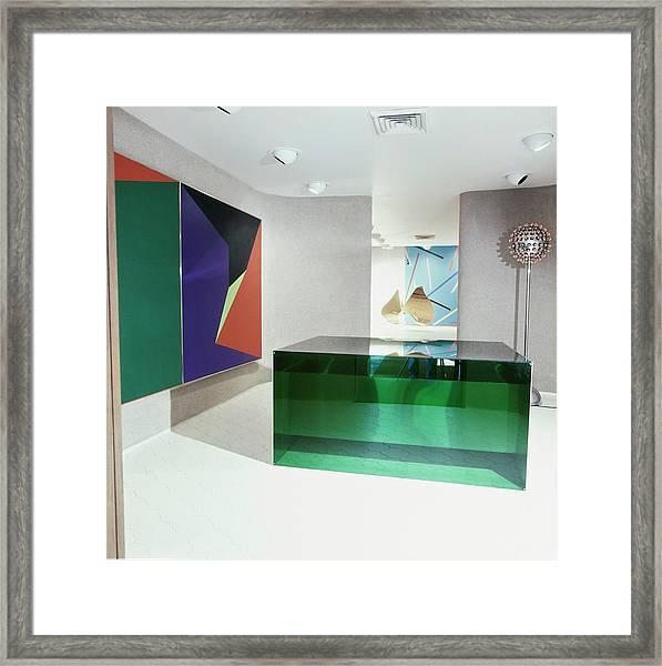 J. Patrick Lannan's Art Gallery Framed Print by Horst P. Horst