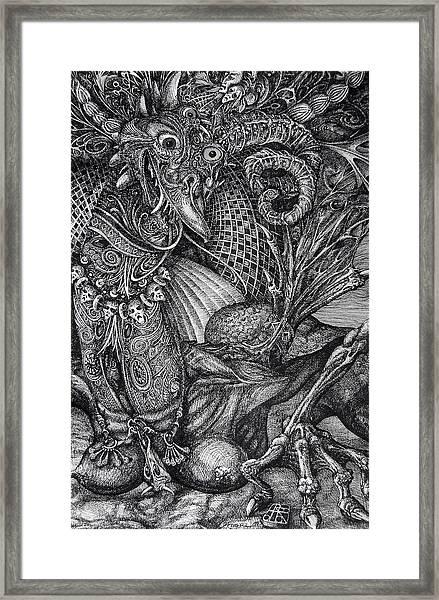 Jabberwocky Framed Print