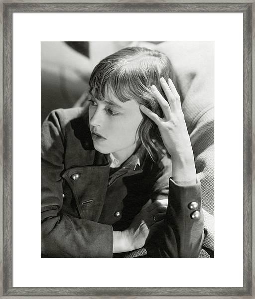 Jack Von Reppeil-bisiuquck Framed Print by Cecil Beaton