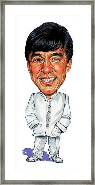 Jackie Chan Framed Print