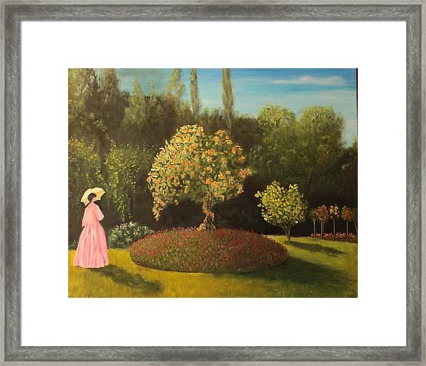 Jackie's Garden Framed Print