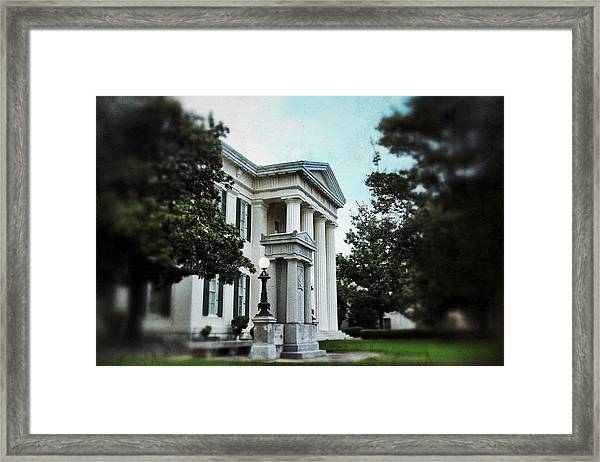 Jackson City Hall Framed Print