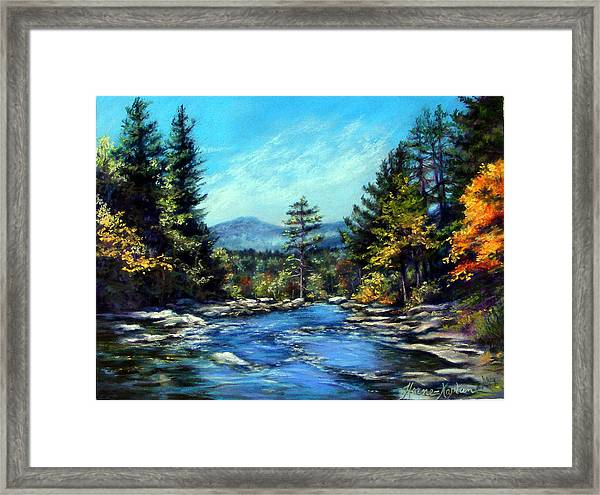 Jackson Falls New Hampshire Framed Print