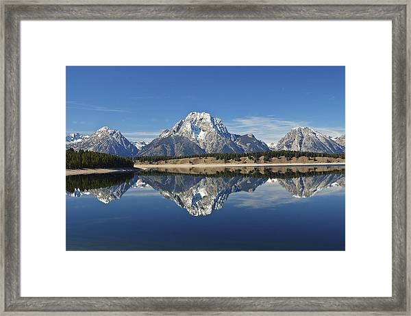 Jackson Lake Reflection Framed Print
