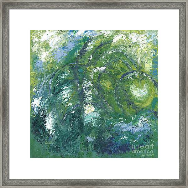 Jade Is The Color Of Your Energy Framed Print