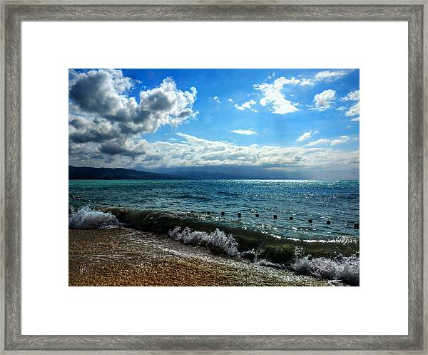 Framed Print featuring the photograph Jamaica - Montego Bay 004 by Lance Vaughn