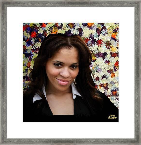 Jameela Epps Framed Print