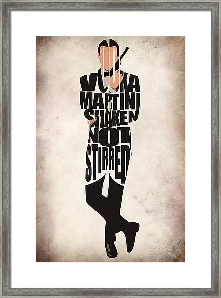 James Bond Framed Print