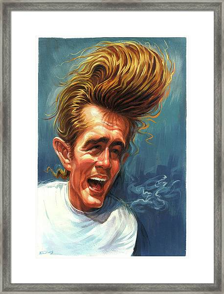 James Dean Framed Print by Art