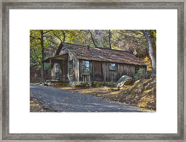 James Marshall Cabin Framed Print
