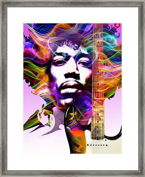 James Marshall Hendrix Framed Print