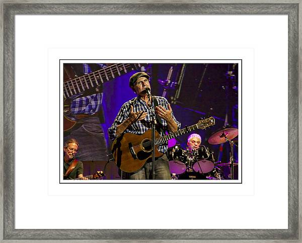 James Taylor Sweet Framed Print