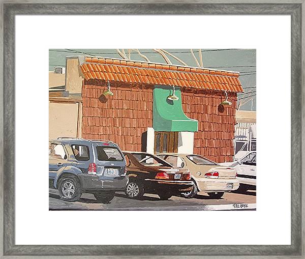 Jamie's Framed Print by Paul Guyer