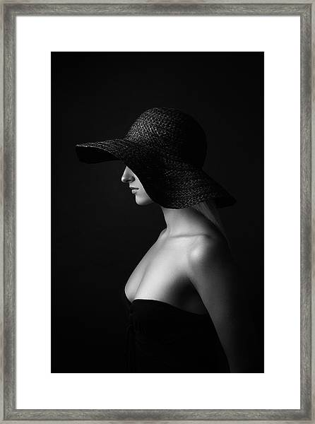 Jane Doe Framed Print