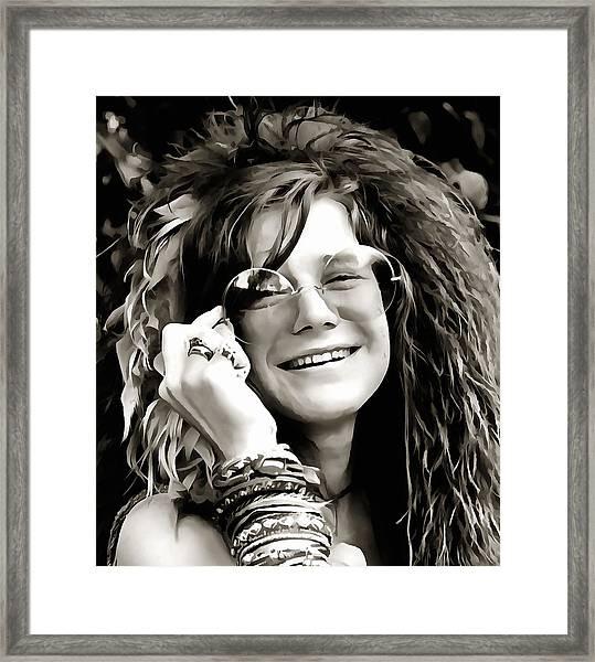Janis Framed Print