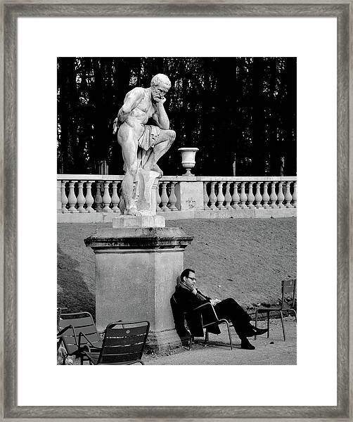Jardin Du Luxembourg Framed Print