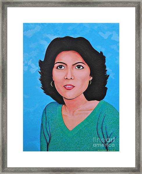 Jasmina Framed Print