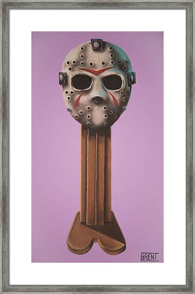 Jason Vorhees Framed Print