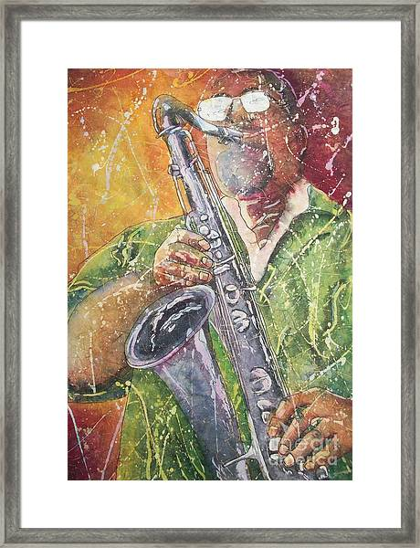 Jazz Bliss Framed Print