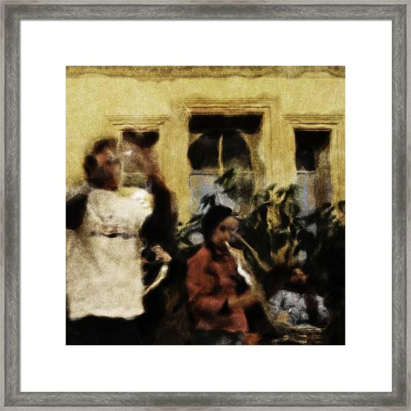 Jazz Framed Print