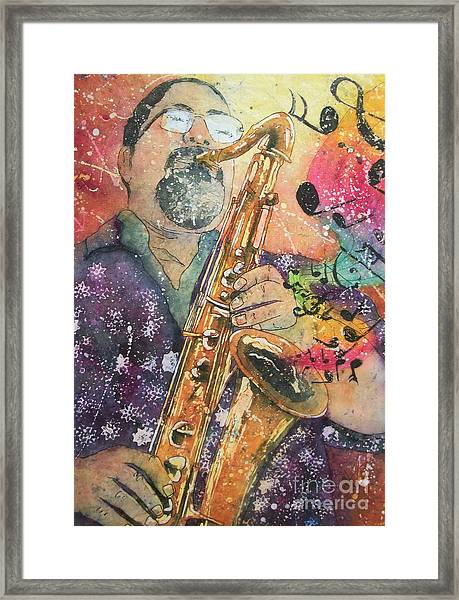 Jazz Master Framed Print