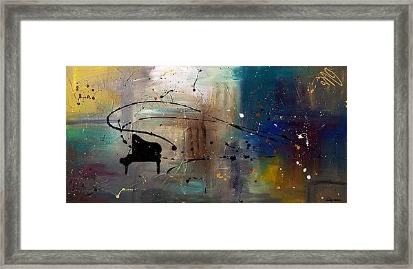 Jazz Night Framed Print