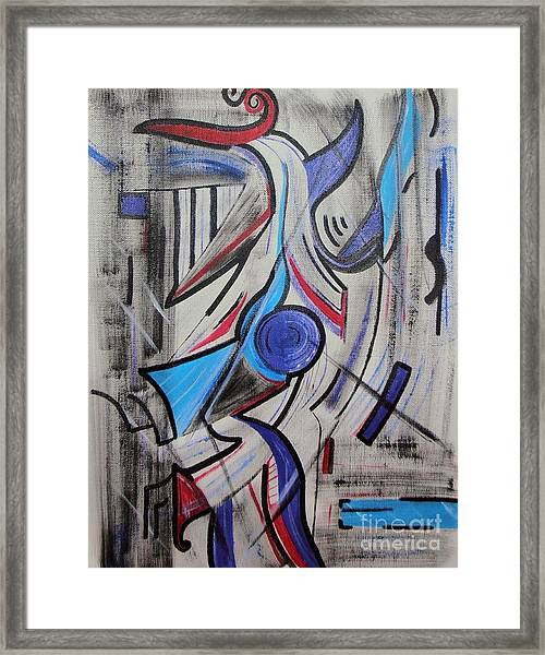 Jazzy Feeling Framed Print