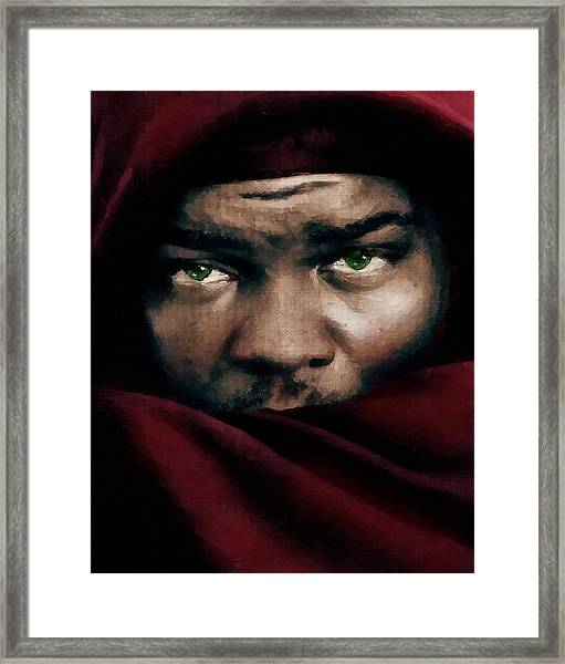 Jealous Othello Framed Print