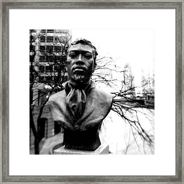 Jean Baptiste Point Du Sable Framed Print