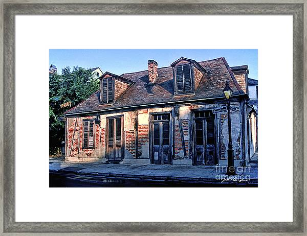 Jean Lafitte's Framed Print